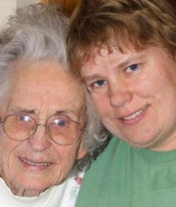 Photograph of Grandma and I