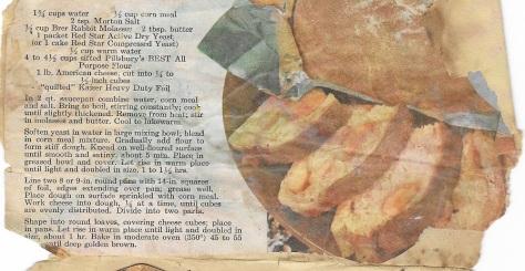 Chunk o Cheese Bread crop